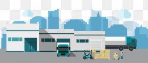 Vector Warehouse - Warehouse Euclidean Vector Logistics Factory PNG