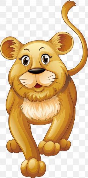 Masculine Lion - Lion Felidae Royalty-free Illustration PNG