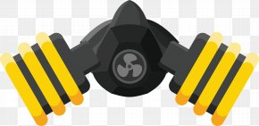 Professional Antivirus Mask - Respirator Gas Mask Personal Protective Equipment Icon PNG