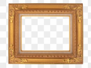 Wood Frame - Picture Frame Stock Photography Gold PNG