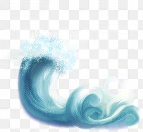 Blue Wave - Wind Wave Light Sea PNG