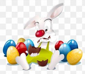 Easter - Easter Bunny Happy Easter! Easter Egg Easter Postcard PNG
