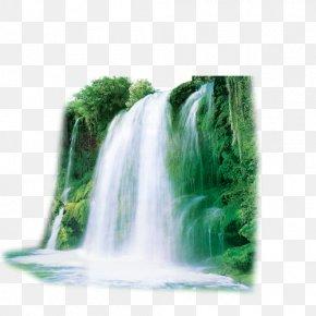 Nature - Nature Landscape Fabric PNG