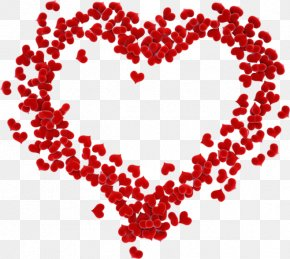 Heart-shaped Floating - Valentines Day February 14 Love Couple PNG