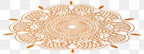 Diwali Floor Decor Transparent Clip Art Image - Diwali Rangoli Clip Art PNG