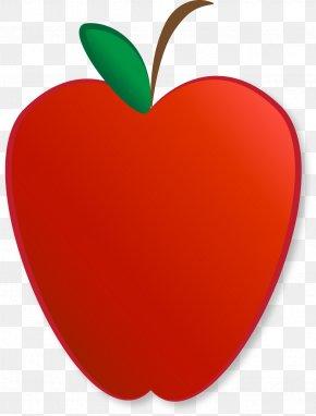 Apple - IPhone 8 School Apple Teacher Clip Art PNG