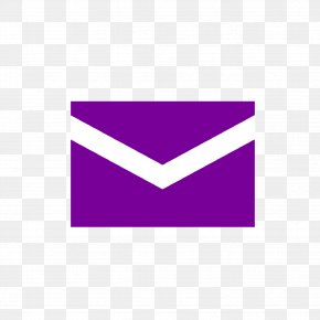 Purple - Yahoo! Mail Email Company Message PNG