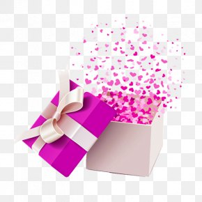 Fluttering Gift - Gift Box Stock Photography Clip Art PNG
