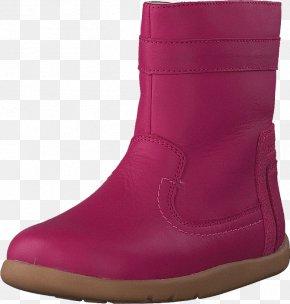 Boot - Snow Boot Shoe Walking Magenta PNG