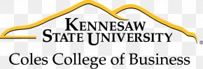 Saunders College Of Business - Coles College Of Business Kennesaw State University College Of Humanities And Social Sciences PNG