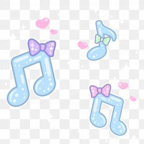 Cute Cartoon Musical Notation - Musical Note Musical Notation Drawing PNG