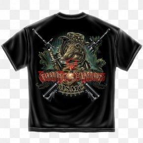 T-shirt - T-shirt United States Marine Corps Hoodie Devil Dog PNG