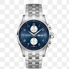 Watch - Hamilton Watch Company Chronograph Fender Jazzmaster Bracelet PNG