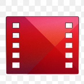 Google Play Movies - Square Area Brand Red PNG