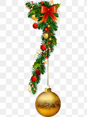 Vector Christmas Decoration Leaves - Christmas Ornament Christmas Decoration Garland PNG