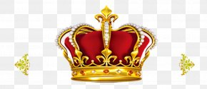 Red Background Gold Crown - Crown Of Queen Elizabeth The Queen Mother Gold Tiara Clip Art PNG