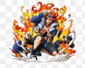 Portgas D. Ace - Portgas D. Ace Monkey D. Luffy One Piece Treasure Cruise Edward Newgate Roronoa Zoro PNG