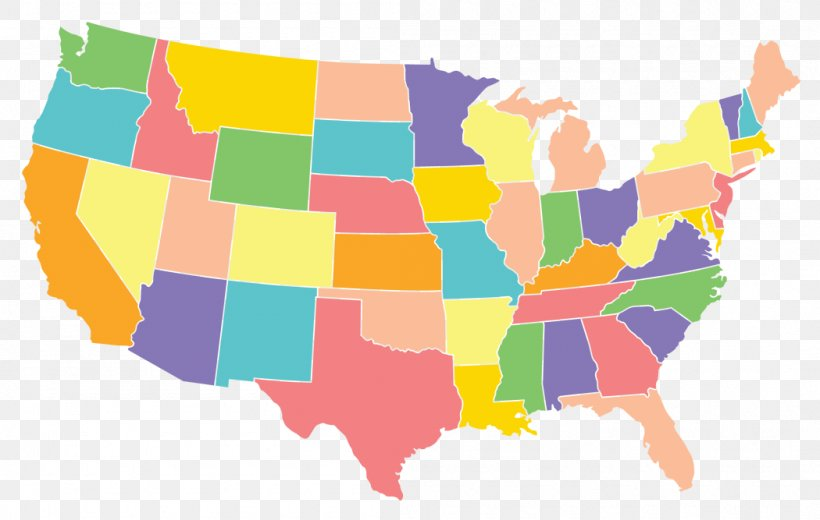 United States World Map U.S. State Name, PNG, 1050x667px ...