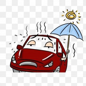 Safe Driving On Rainy Days - Car Window Summer Weather Driving PNG