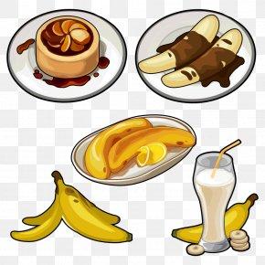 Cartoon Banana - Juice Pisang Goreng Banana Cake Banana Pudding PNG