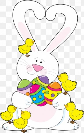 Easter Bunny - Easter Bunny European Rabbit Easter Egg PNG
