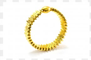 Gold Gears - Bracelet Bangle Gold Body Jewellery PNG