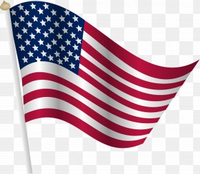 USA Flag - Flag Of The United States Clip Art PNG
