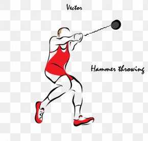 Hammer Throw - Hammer Throw Throwing Illustration PNG