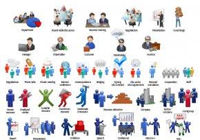 Business Presentation Cliparts - Businessperson Presentation Free Content Clip Art PNG