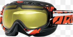 Orange Colour Fog - Goggles Motorcycle Helmets Glasses Eyewear Personal Protective Equipment PNG