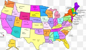 United States - United States U.S. State World Map Blank Map PNG