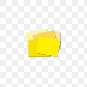 Yellow Sticky Notes - Line Triangle Wallpaper PNG