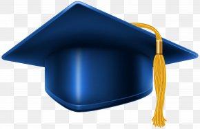 Blue Graduation Cap Clip Art Image - Square Academic Cap Graduation Ceremony Blue Clip Art PNG