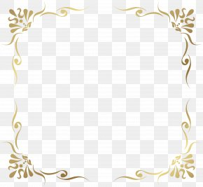 Transparent Decorative Frame Border Picture - Picture Frame PNG
