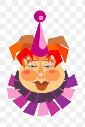 Fat Cartoon Clown - Clown Circus Clip Art PNG