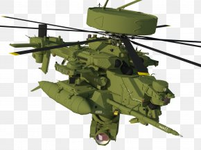 Helicopter - Helicopter Rotor Aircraft Mi-24 Airplane PNG