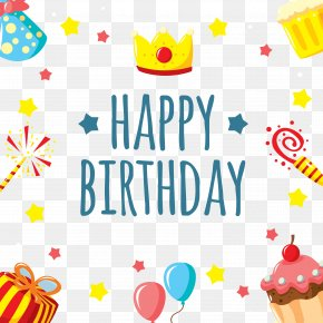 Cute And Fun Birthday Background - Happy Birthday To You Greeting Card Brother Wish PNG