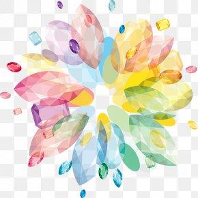 Design - Floral Design Watercolor Painting Flowering Plant PNG