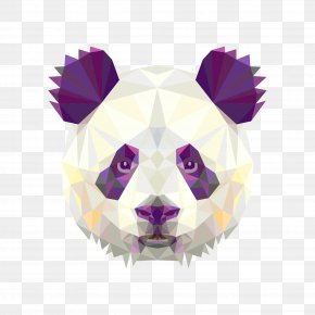 Panda Illustration - Giant Panda Bear Red Panda Poster Wall Decal PNG