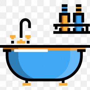 Bathtub - Bathtub Bathroom Icon PNG