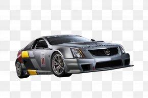 Cadillac Racing Car - Cadillac CTS-V 2018 Cadillac CTS Mid-size Car PNG