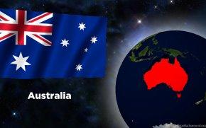 Australia - Flag Of Australia Desktop Wallpaper Advance Australia Fair PNG