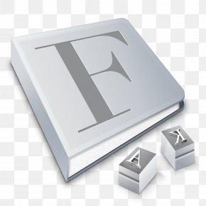 Font - Font Book MacOS Typeface PNG