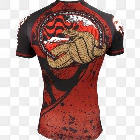 T-shirt - T-shirt Venum Rash Guard Clothing Brazilian Jiu-jitsu PNG