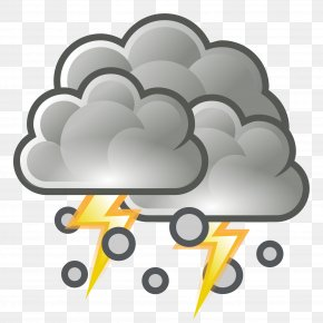Weather - Thunderstorm Weather Forecasting Clip Art PNG