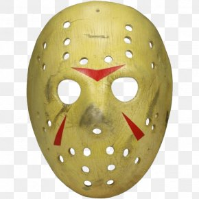 Jason Voorhees Friday The 13th Mask Prop Replica Theatrical Property PNG
