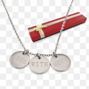 Necklace - Pendant Necklace Jewellery Chain Bracelet Silver PNG