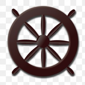 Rowing - Ship's Wheel Rudder Clip Art PNG