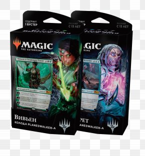 Jace Planeswalker - Magic: The Gathering Playing Card Planeswalker Core Set 2019 Ajani, Wise Counselor PNG