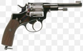 Gun - Revolver Firearm Nagant M1895 Pistol Handgun PNG